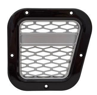 XS Air Intake Grille - Black with Silver Mesh - DA1970