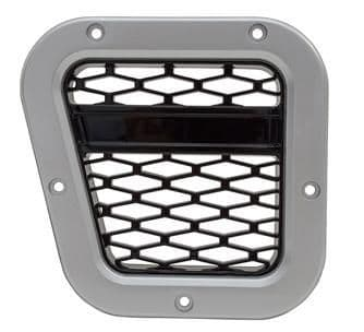 XS Air Intake Grille - Silver with Black Mesh - DA1973