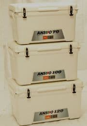120 Ltr Ansuo Cooler Box | Ice Box - 10 Day Cooler