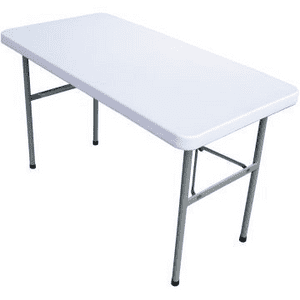 4 Foot Heavy Duty Trestle Table (Solid) 120x59cm