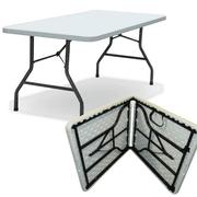 5 Foot Heavy Duty Trestle Table (Fold in Half) 152x76cm