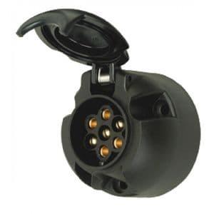 7 Pin Socket   Car socket for towbar   12 v socket for car