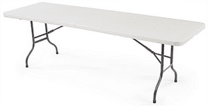 Dining Table | Trestle Table | Folding Trestle Table | Fold in Half Trestle Table