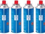 Camping Gas CP250 Gas Cartridges Butane (Pack of 4)