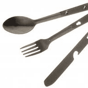 Cutlery Clip Set (Chow Set) Knife Fork Spoon