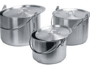 Kampa 3 Piece Billy Set Aluminium Pot Set