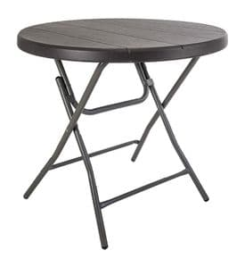 Quest Jet Stream Round Table Rattan Effect