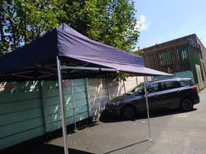 Detachable 3m Rain Canopy + Bar & Clamp