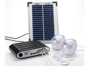 HUBi 2k Solar Charging Kit w/ Lights