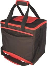 Igloo Collapse & Cool 36 Cooler Bag Sand/Red