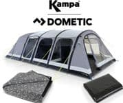 Kampa Studland 8 Classic Air Tent 2020 (Inc: Carpet + Footprint)