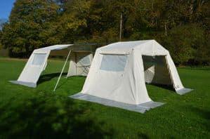 Mess Tent Extension | Scout Tent extendable | Group Tent Extension