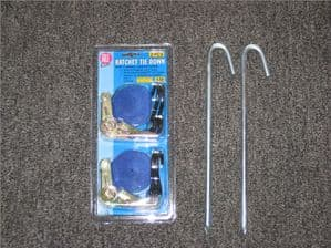 Tie down Kit | Marquee party tent | Marquee Anchor | O Meara Camping