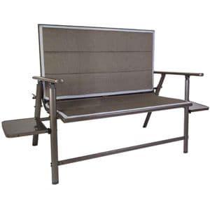 Quest Naples Pro 2 Seater Folding Bench