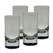 Tall Tumbler Glasses Set of 4