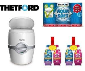 Thetford Porta Potti Excellence | Chemical Toilet | Porta Potty | Portable Toilet