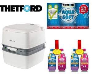 Thetford Porta Potti 165 | Chemical Toilet | Porta Potty | Portable Toilet