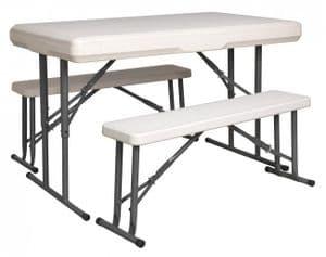 Trestle Table & Bench Set