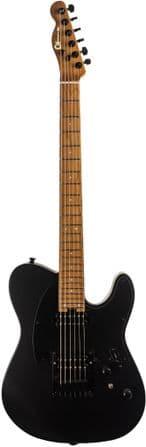 Charvel Pro Mod SC2 24 HH HT Satin Black, Caramelized Fingerboard