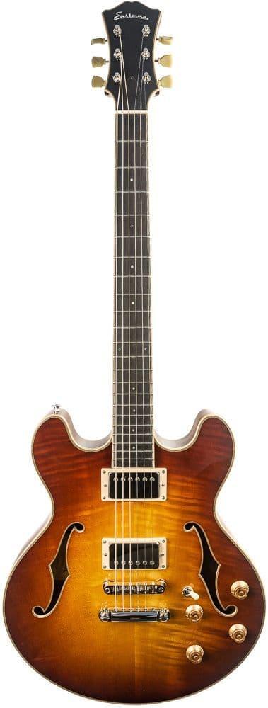 Eastman T185MX Goldburst with Case