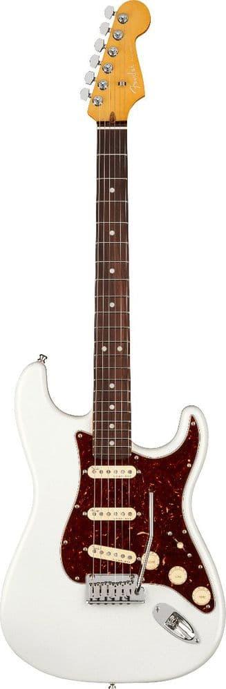 Fender American Ultra Strat Arctic Pearl Rosewood