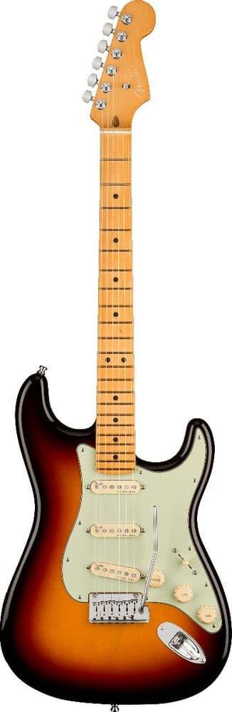 Fender American Ultra Stratocaster, Ultraburst, Maple