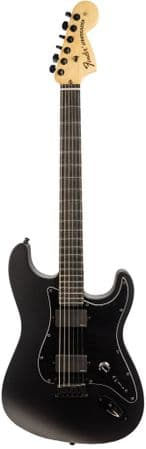 Fender Jim Root Stratocaster Flat Black with Case