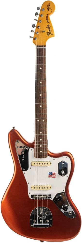 Fender Johnny Marr Jaguar in Metallic KO with Case