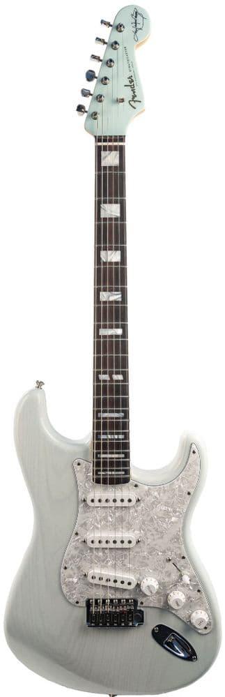 Fender Kenny Wayne Shepherd Stratocaster, Trans Faded Sonic Blue