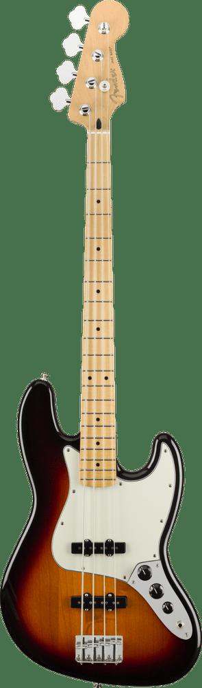 Fender Player Jazz Bass Sunburst Maple