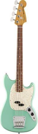 Fender Vintera '60s Mustang Seafoam Green Bass with Gigbag
