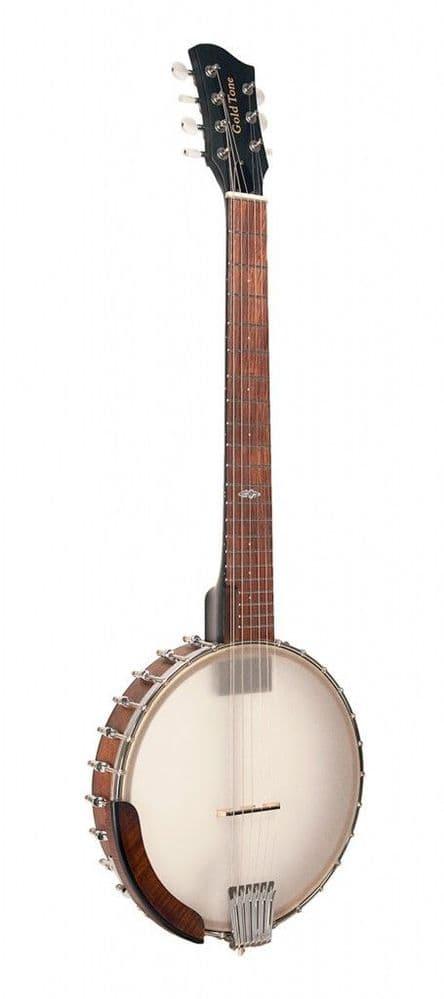 Gold Tone WR-7: Wayne Rogers signature 7-string banjitar with pickup and bag