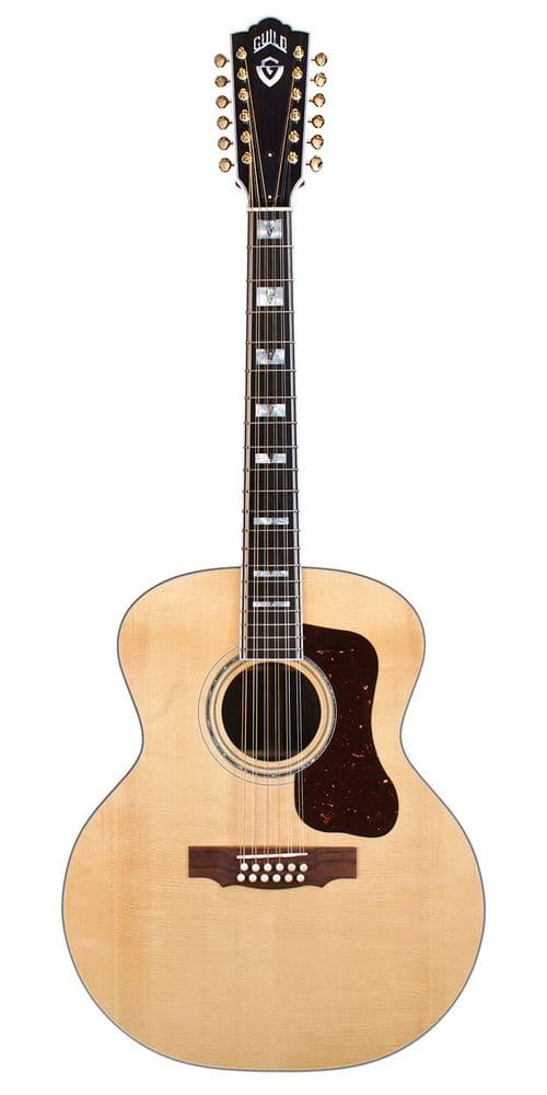Guild F-512 Natural 12 String, Spruce and Rosewood