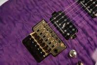 Jackson Pro Soloist SL2Q MAH, Transparent Purple