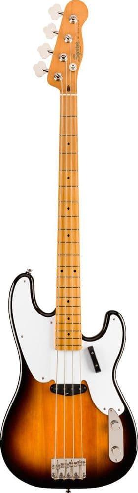 Squier Classic Vibe '50s Precision Bass, Maple Fingerboard, 2-Color Sunburst