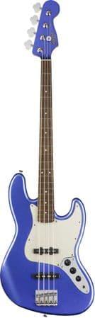 Squier Contemporary Jazz Bass, Laurel  Ocean Blue Metallic