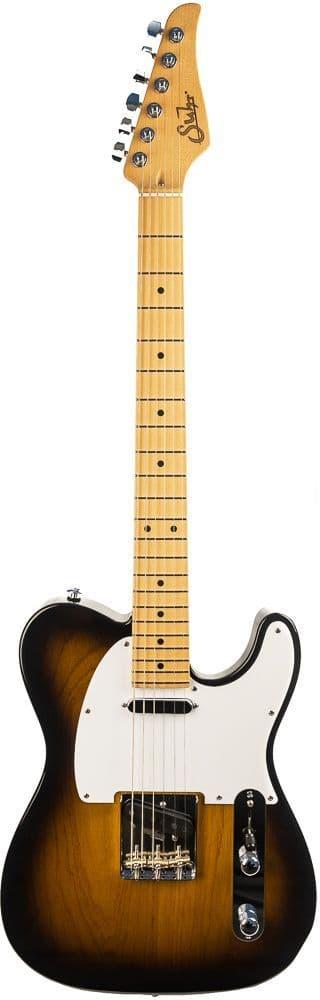 Suhr Classic T, 2 Tone Sunburst Swamp Ash Body